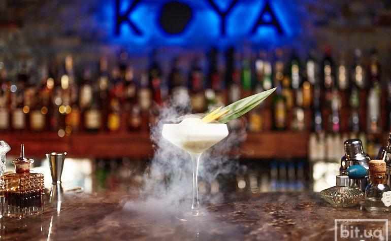 Моллекулярный коктейль с применением жидкого азота